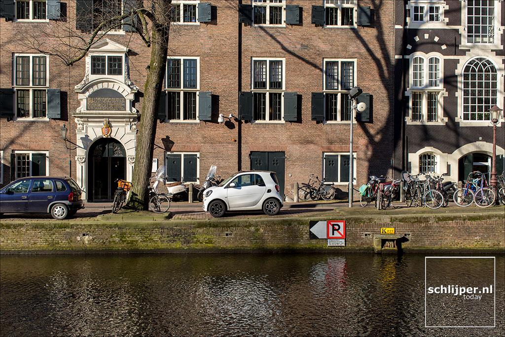 Nederland, Amsterdam, 14 februari 2018