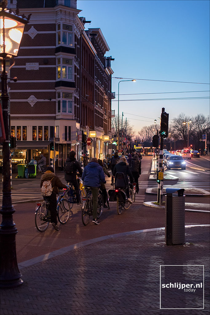 Nederland, Amsterdam, 23 februari 2018