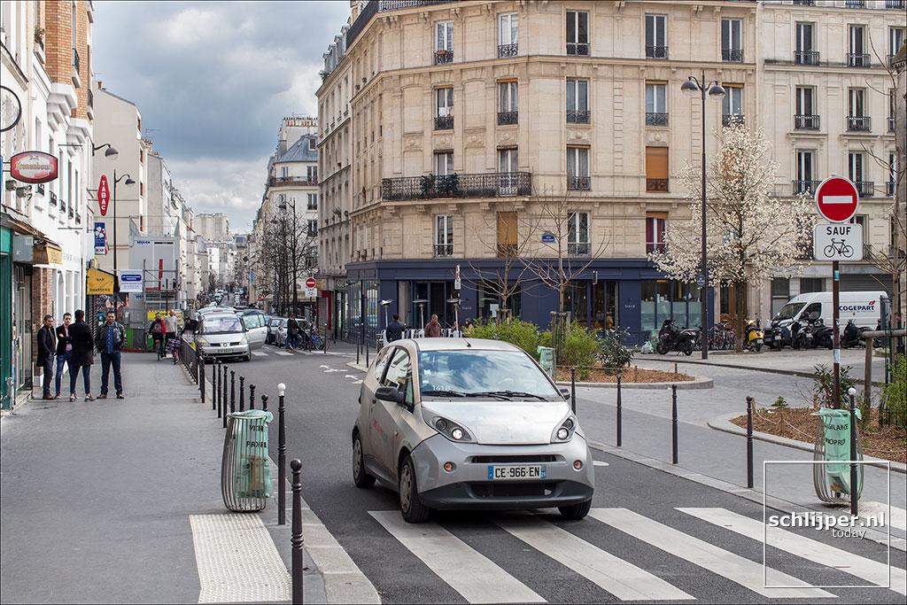 Frankrijk, Parijs, 1 april 2018