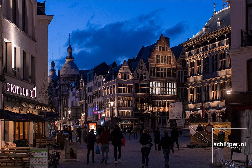 Belgie, Antwerpen, 1 april 2018