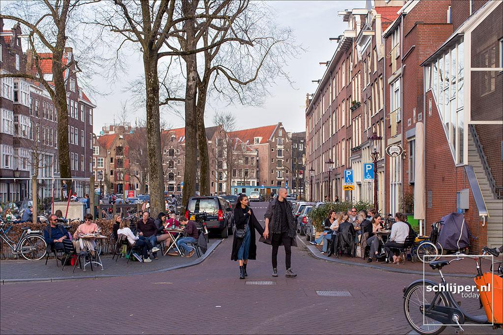 Nederland, Amsterdam, 7 april 2018