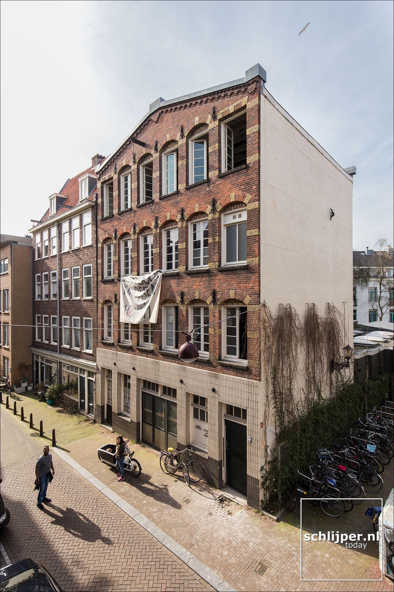 Nederland, Amsterdam, 8 april 2018