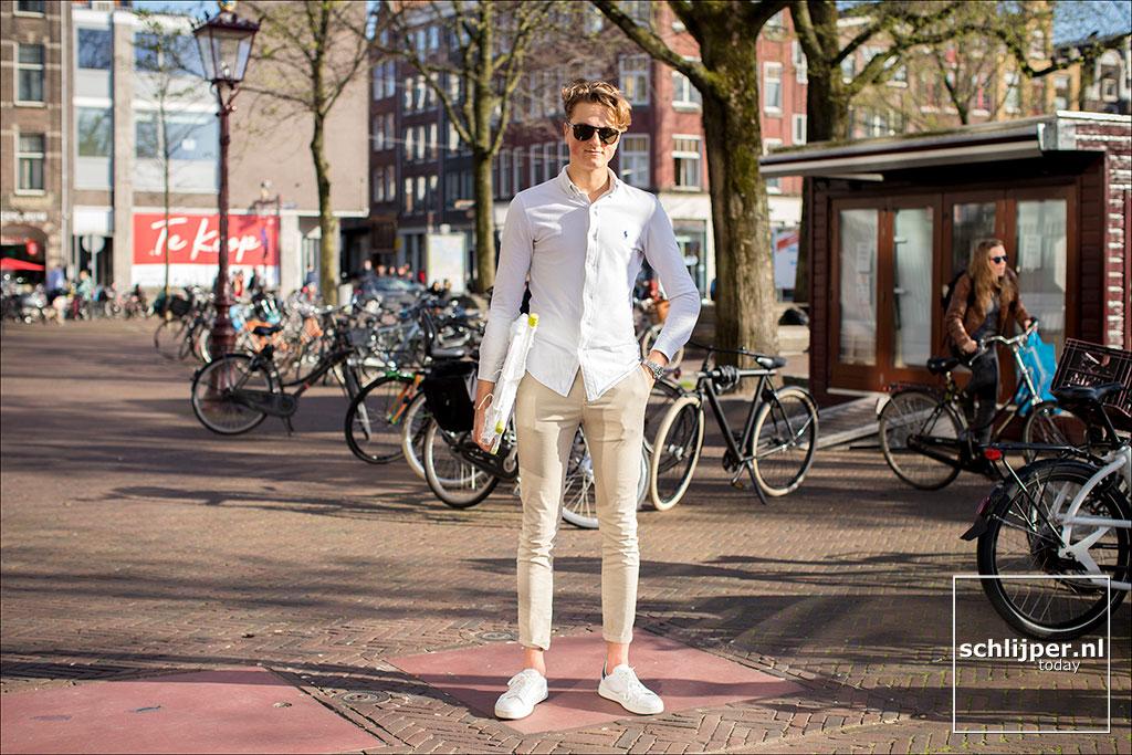 Nederland, Amsterdam, 16 april 2018