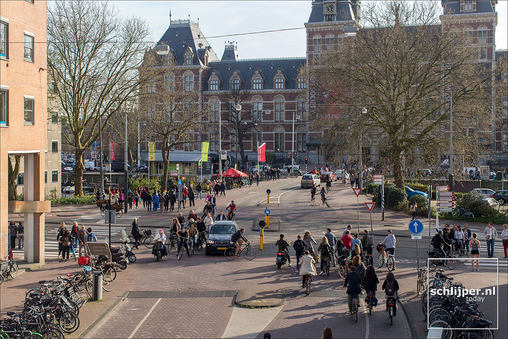 Nederland, Amsterdam, 17 april 2018