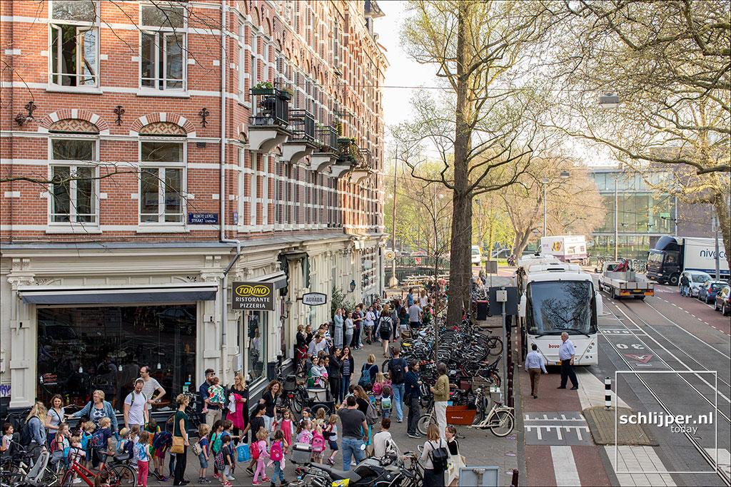 Nederland, Amsterdam, 20 april 2018