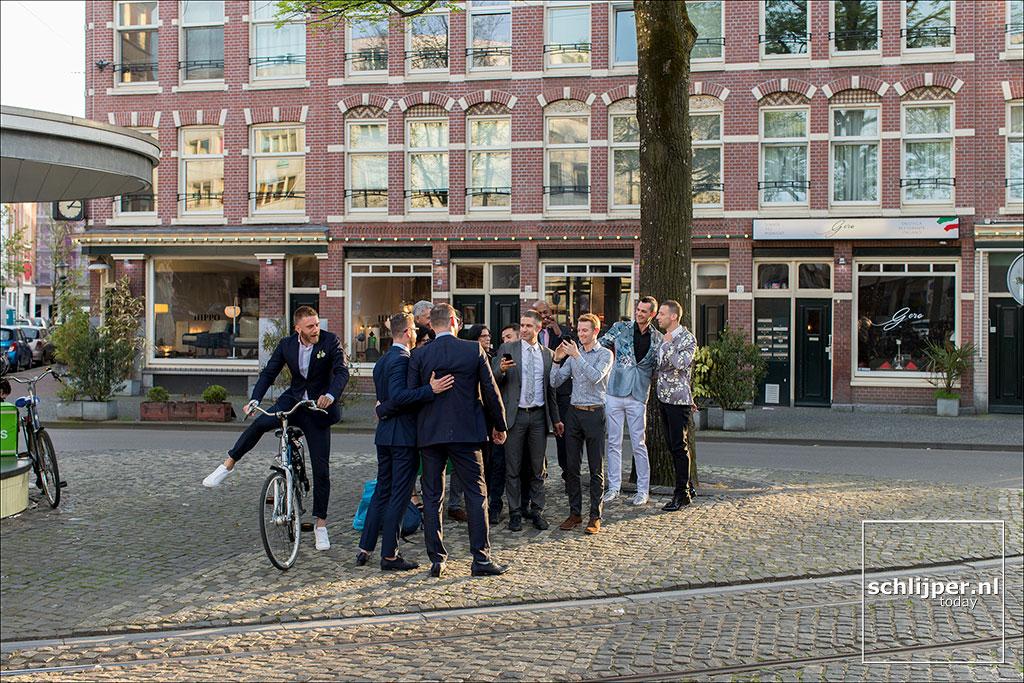 Nederland, Amsterdam, 21 april 2018