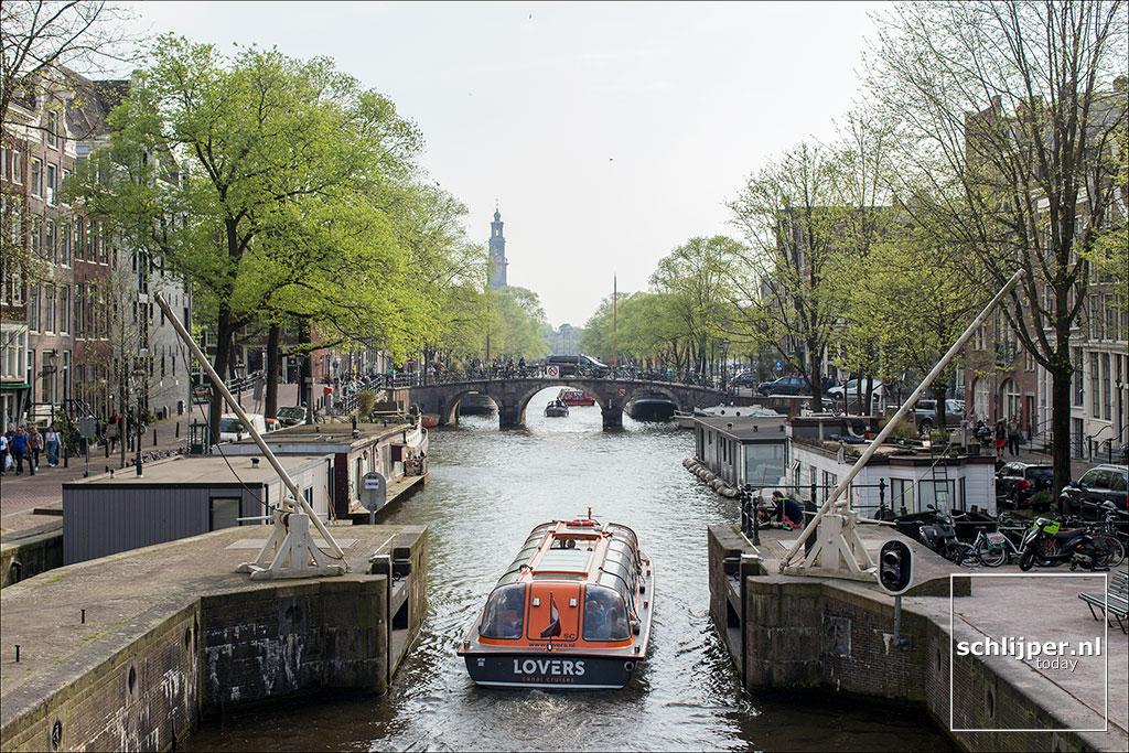 Nederland, Amsterdam, 22 april 2018