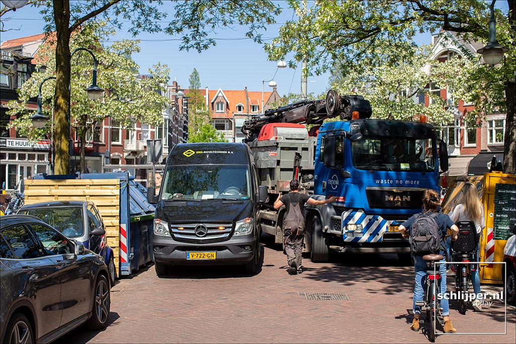 Nederland, Amsterdam, 15 mei 2018