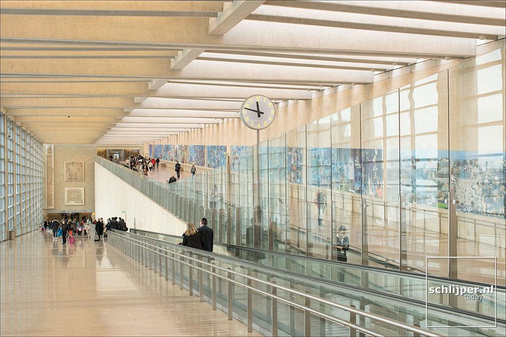 Israel, Ben Gurion Airport, 31 december 2018