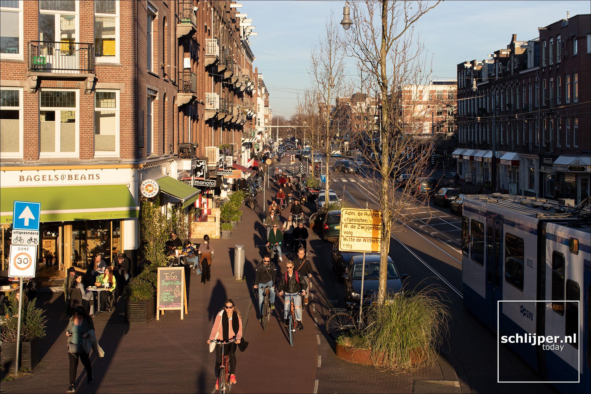 Nederland, Amsterdam, 25 februari 2019