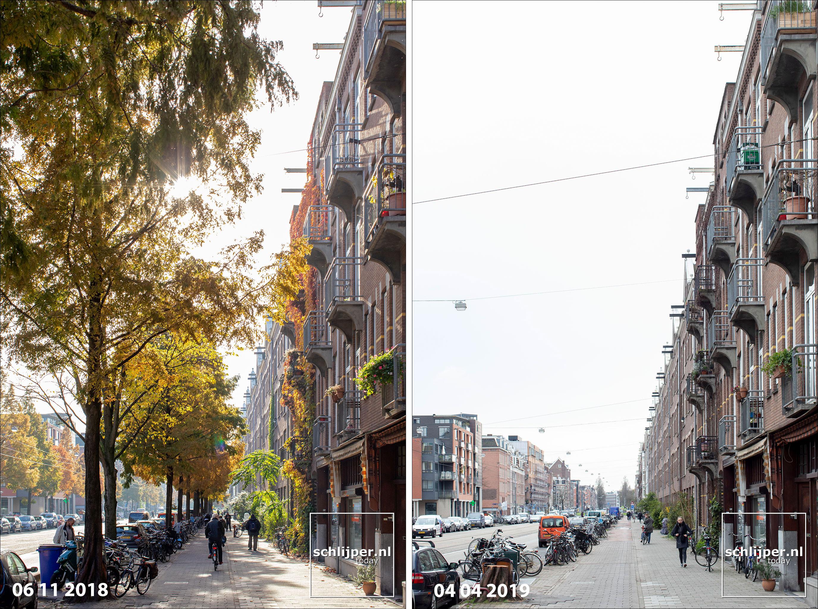 Nederland, Amsterdam, 4 april 2019