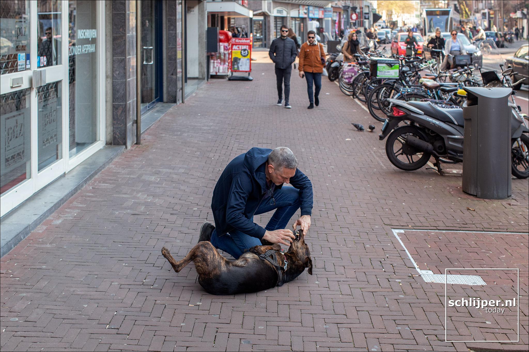Nederland, Amsterdam, 15 april 2019