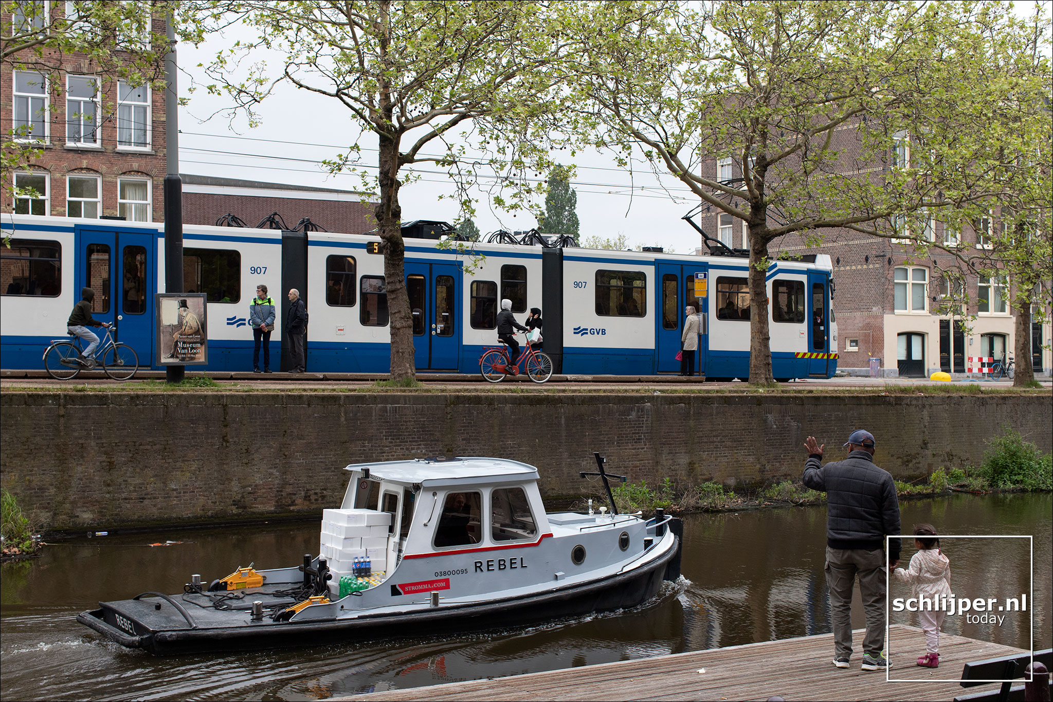 Nederland, Amsterdam, 30 april 2019