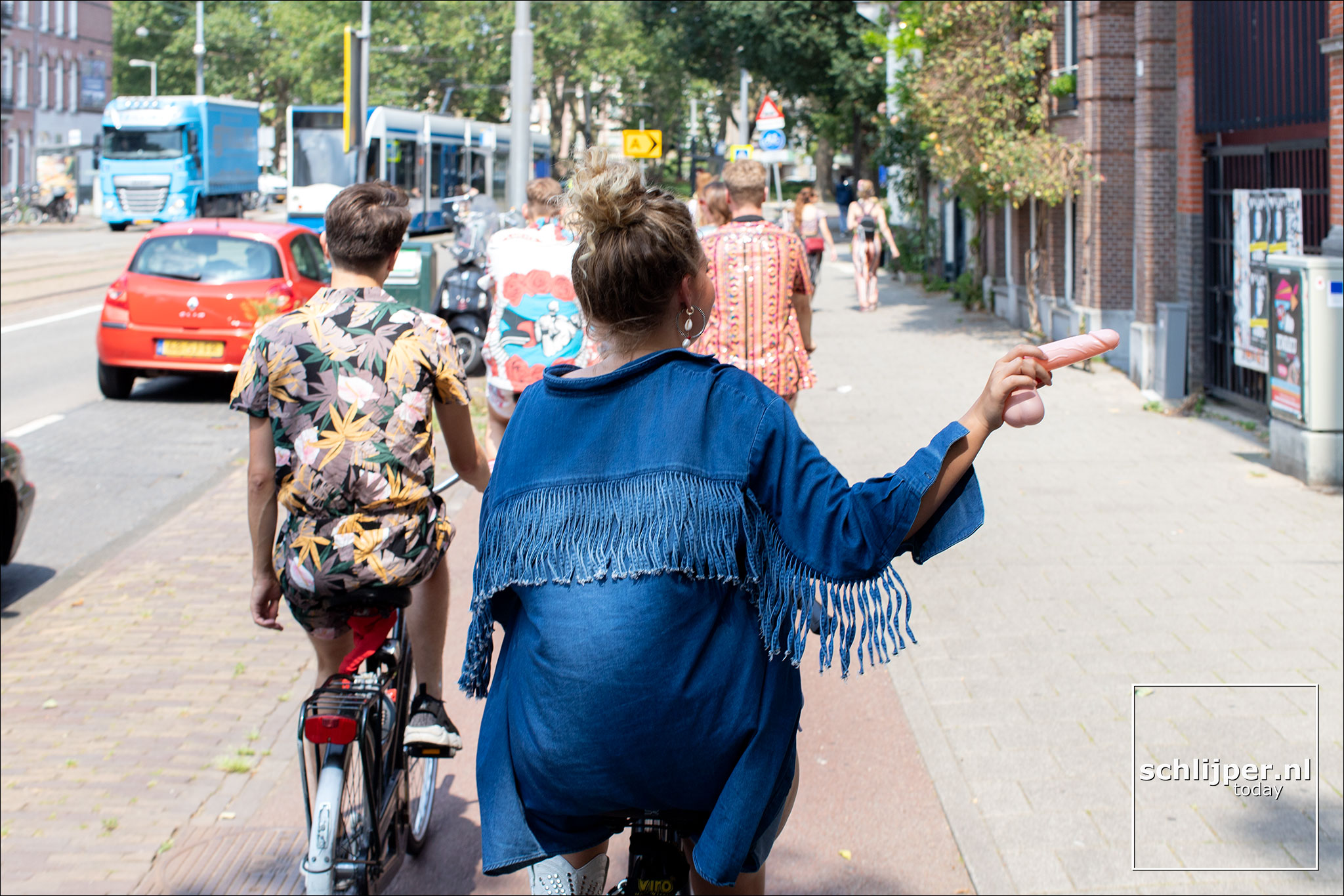 Nederland, Amsterdam, 27 juli 2019
