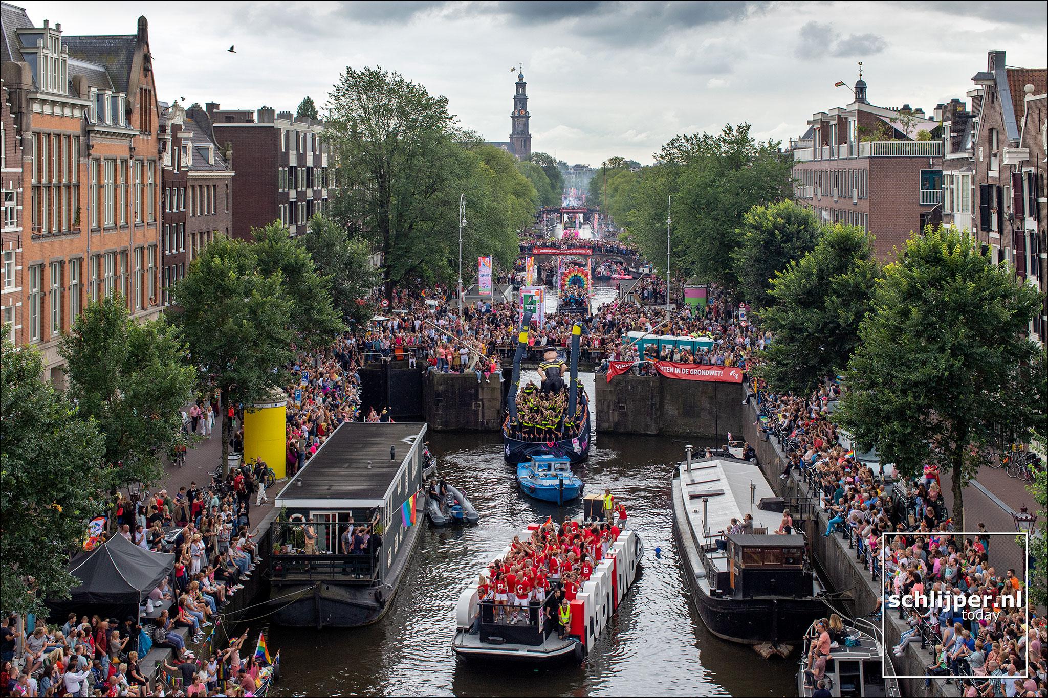Nederland, Amsterdam, 3 augustus 2019