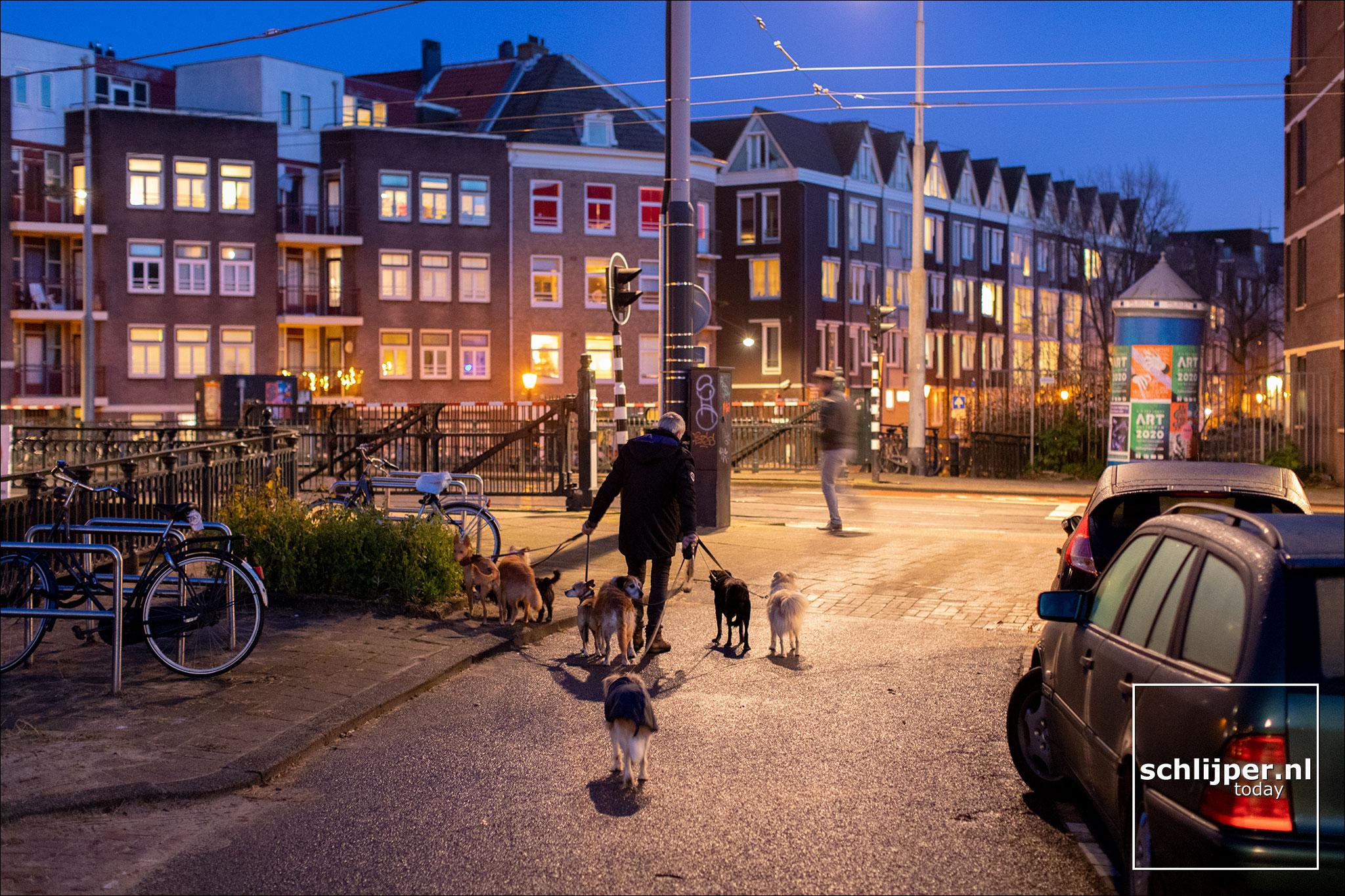 Nederland, Amsterdam, 18 december 2019