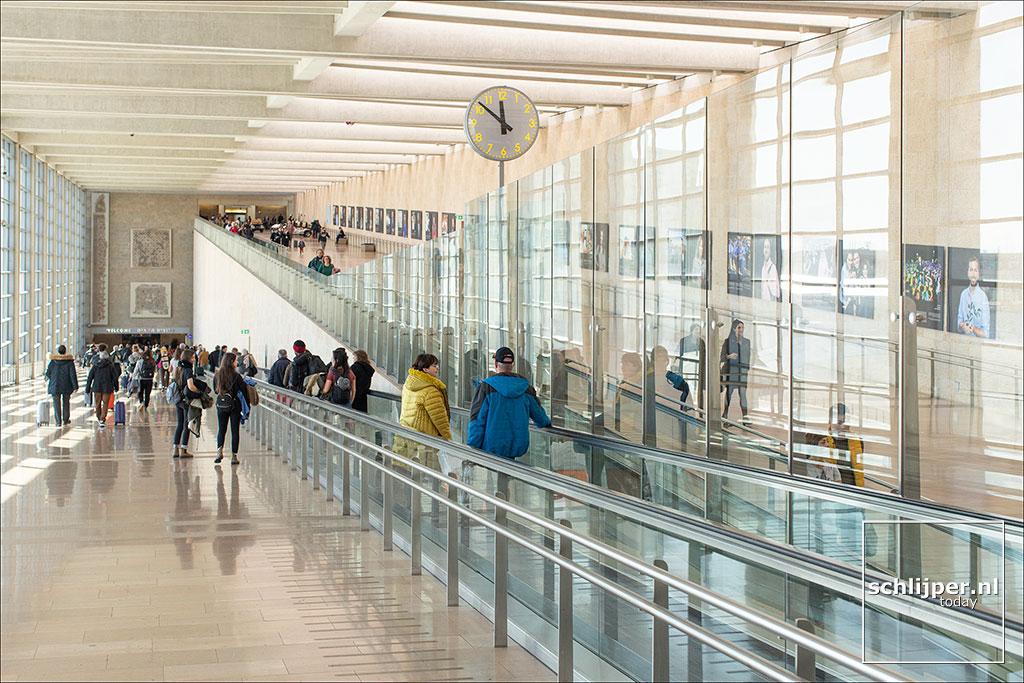 Israel, Ben Gurion Airport 6 januari 2020