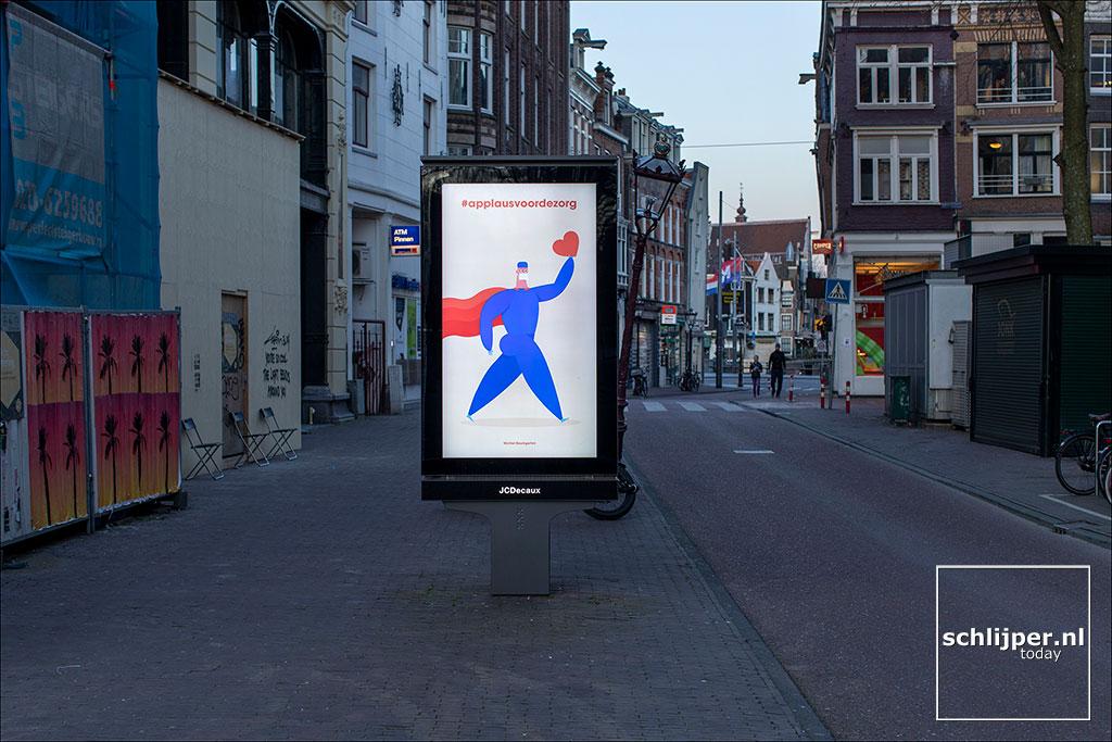 Nederland, Amsterdam, 23 maart 2020