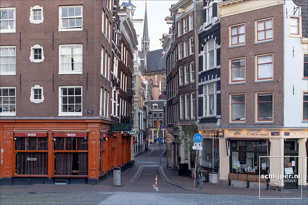 Nederland, Amsterdam, 25 maart 2020