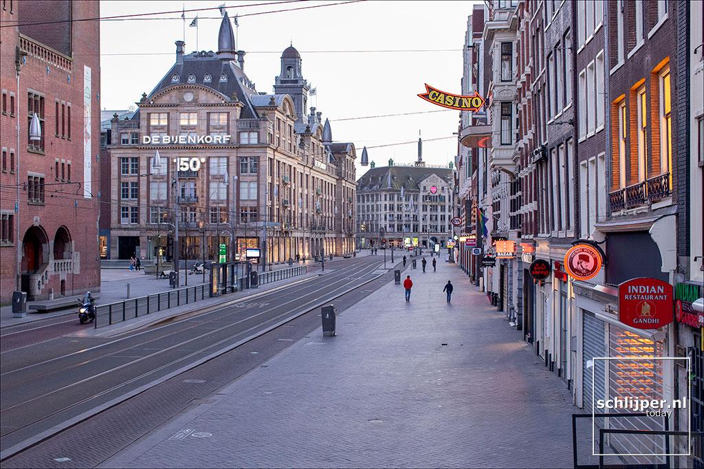 Nederland, Amsterdam, 28 maart 2020