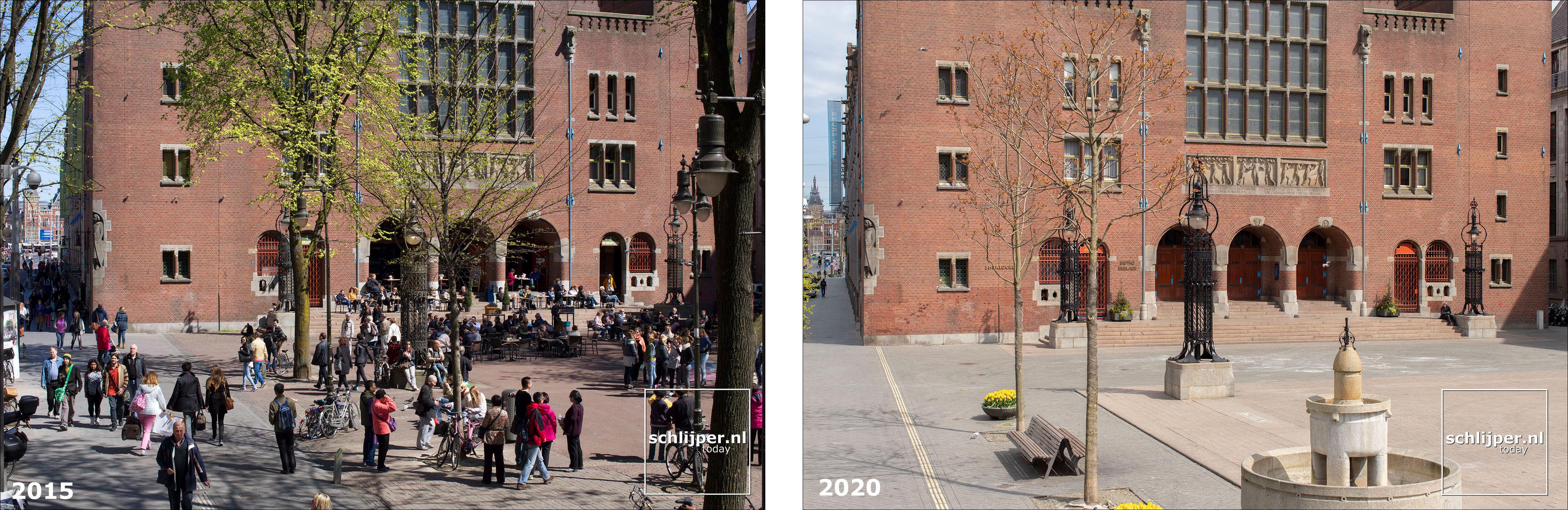 Nederland, Amsterdam, 18 april 2020