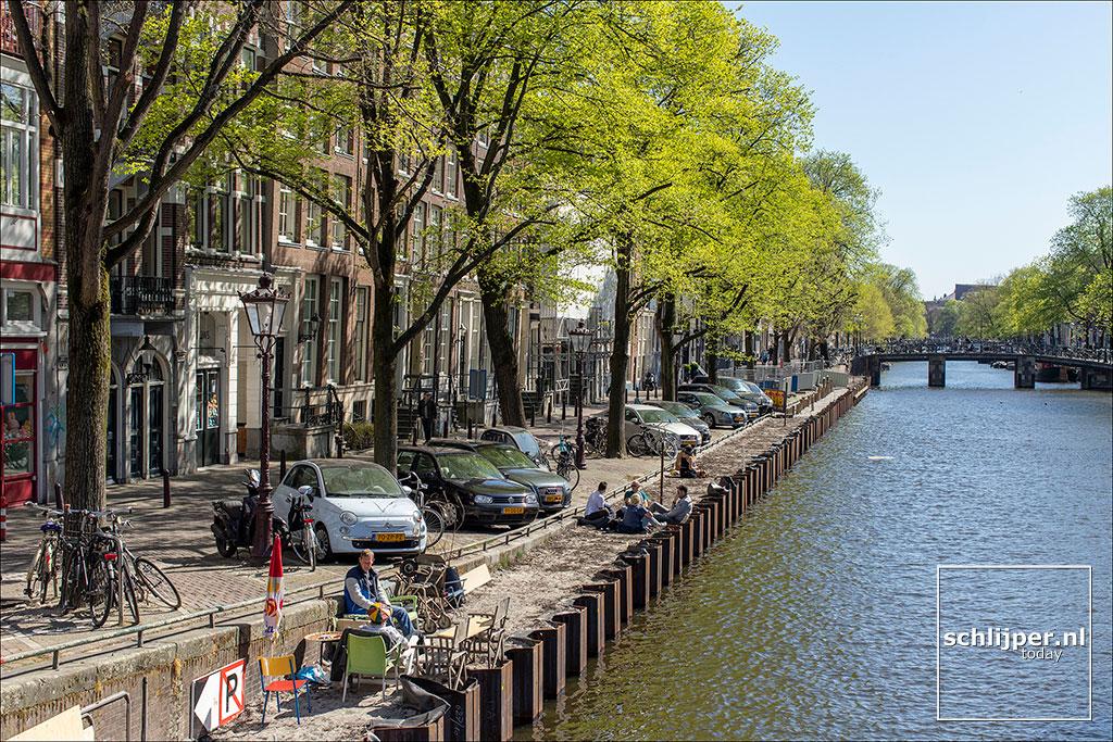 Nederland, Amsterdam, 19 april 2020