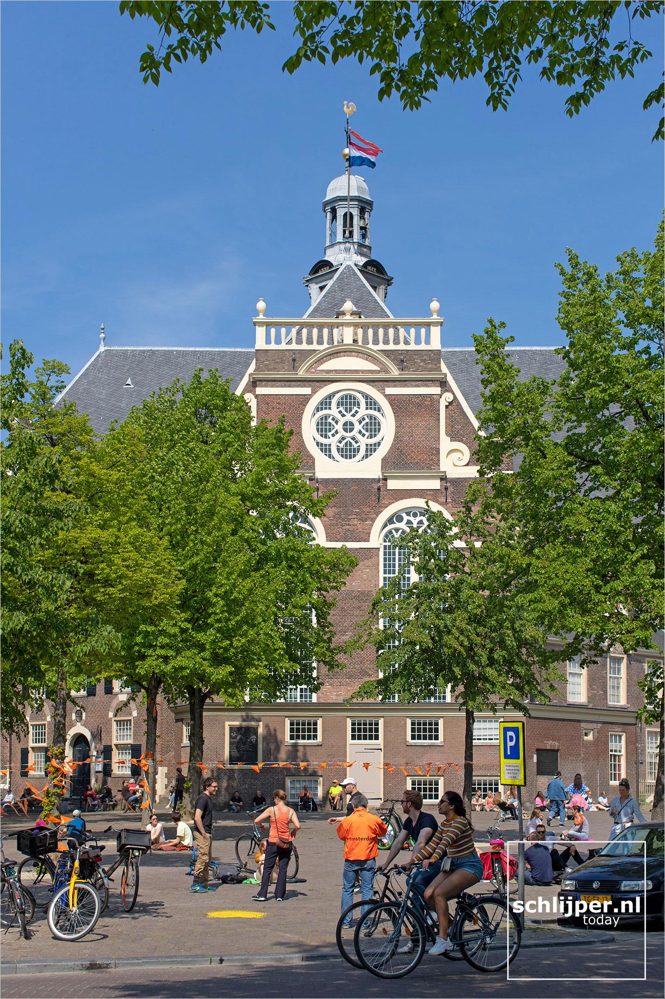 Nederland, Amsterdam, 27 april 2020