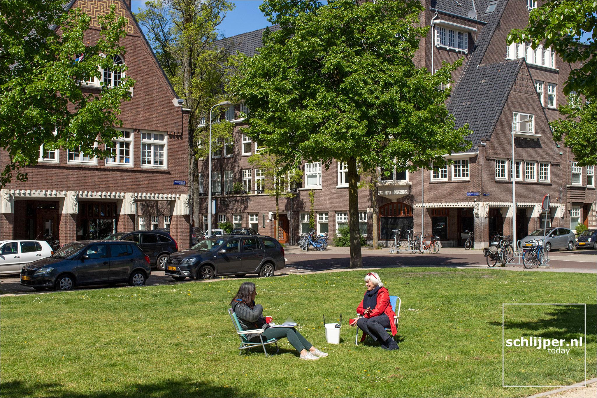 Nederland, Amsterdam, 5 mei 2020