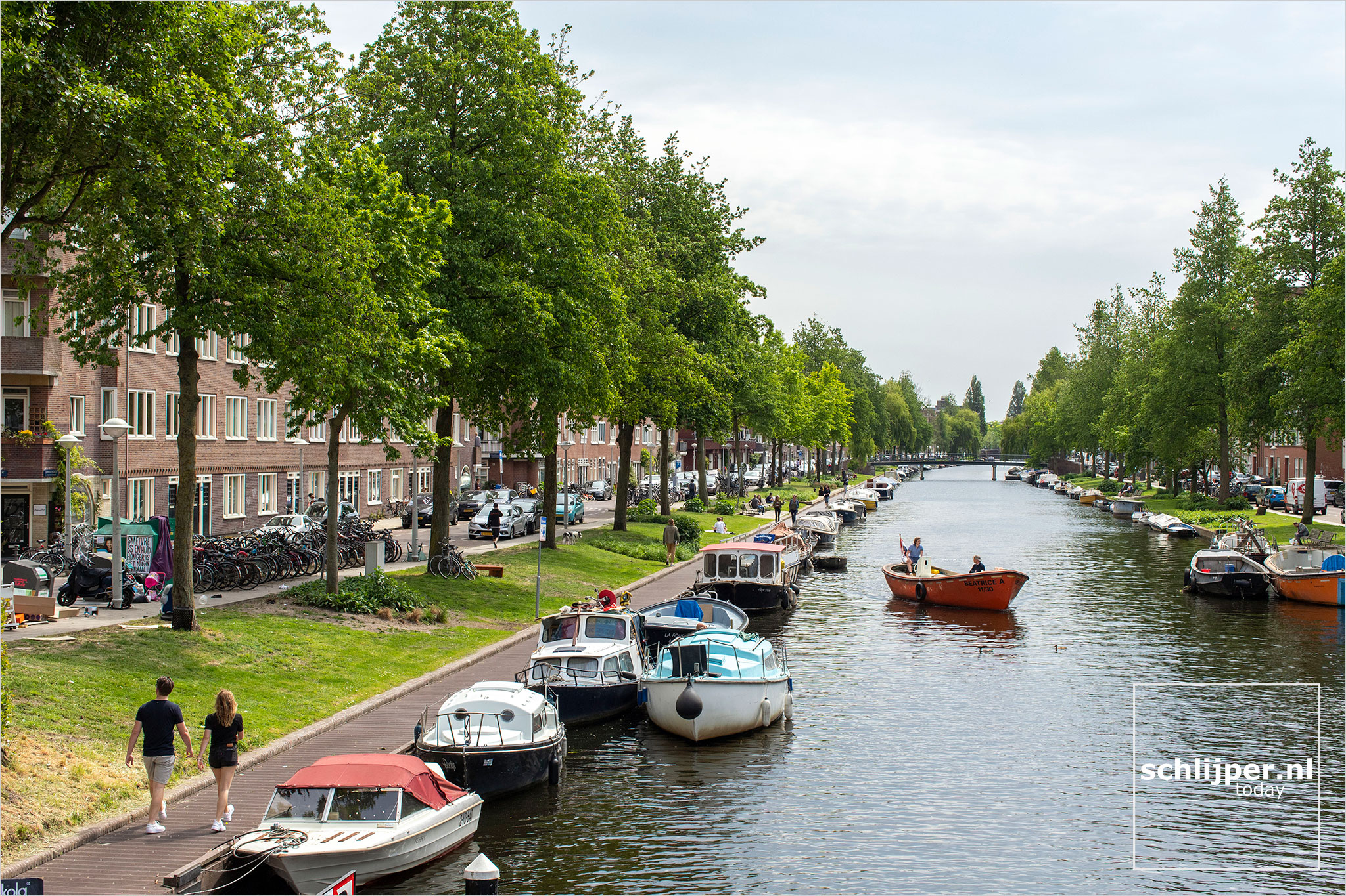 Nederland, Amsterdam, 10 mei 2020