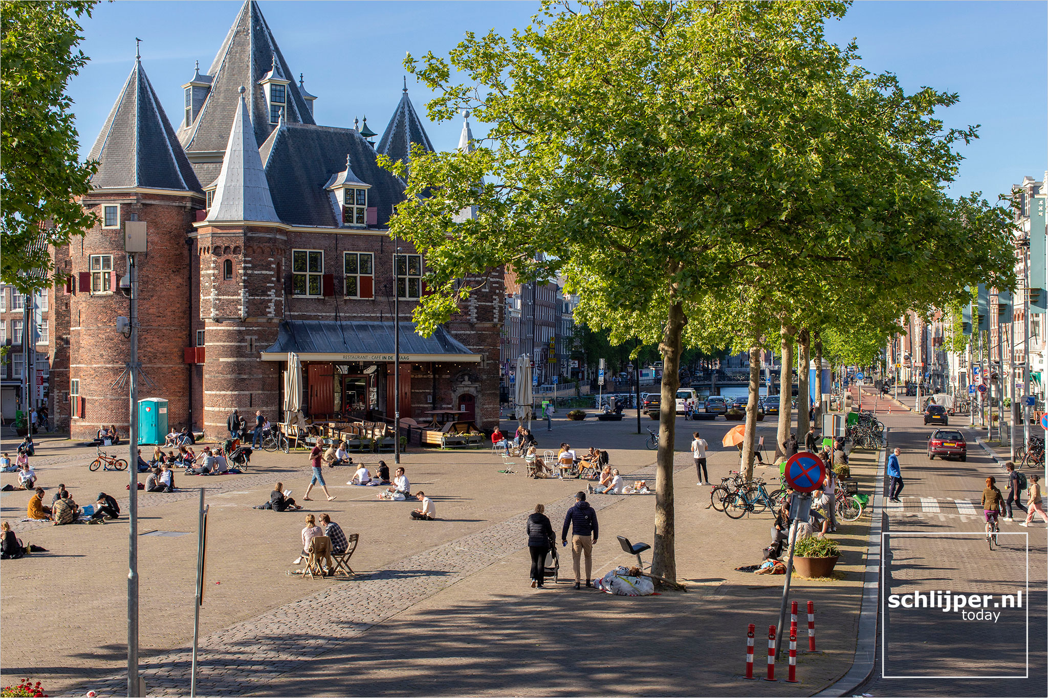 Nederland, Amsterdam, 17 mei 2020