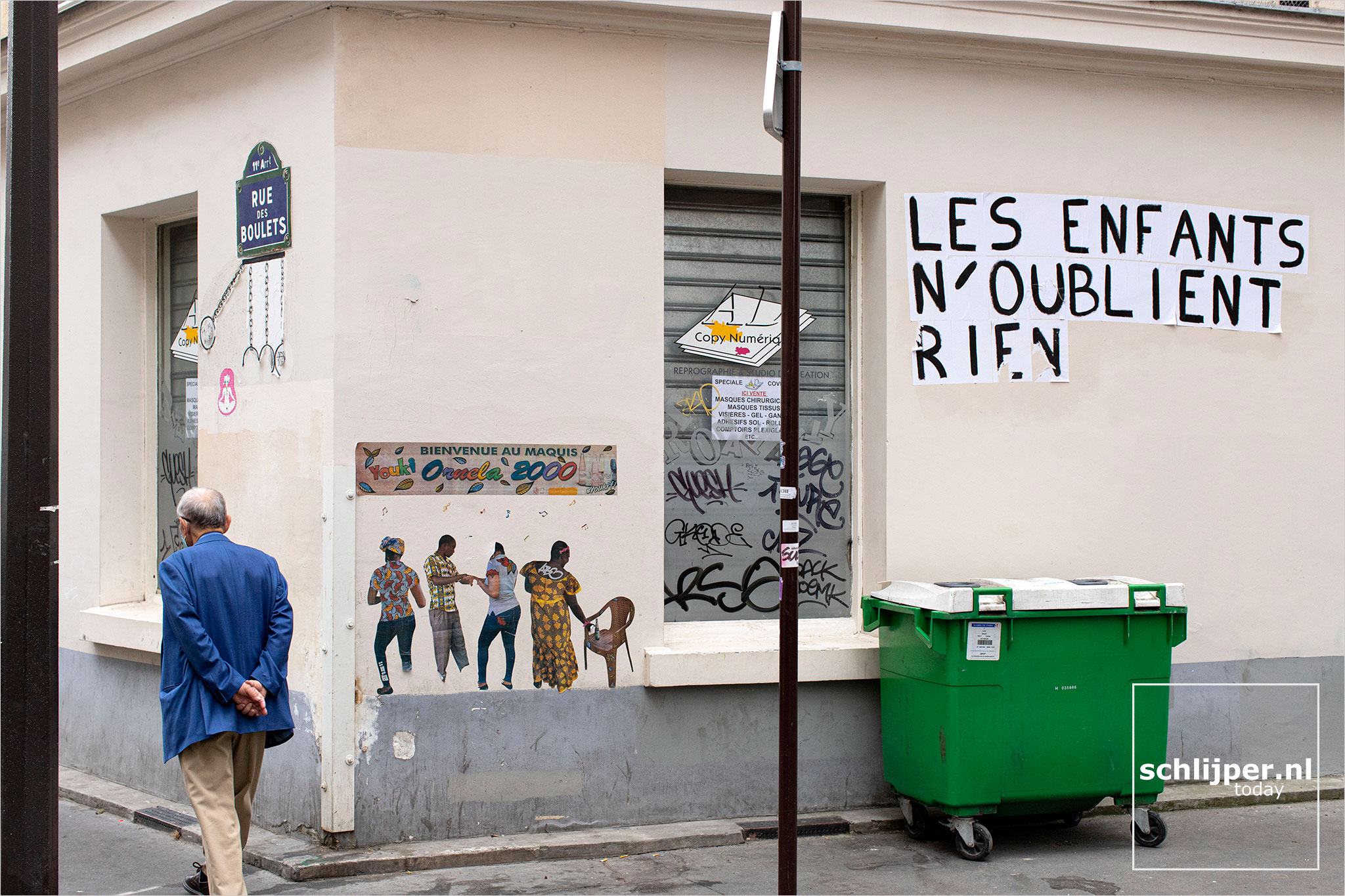 Frankrijk, Parijs, 14 juli 2020