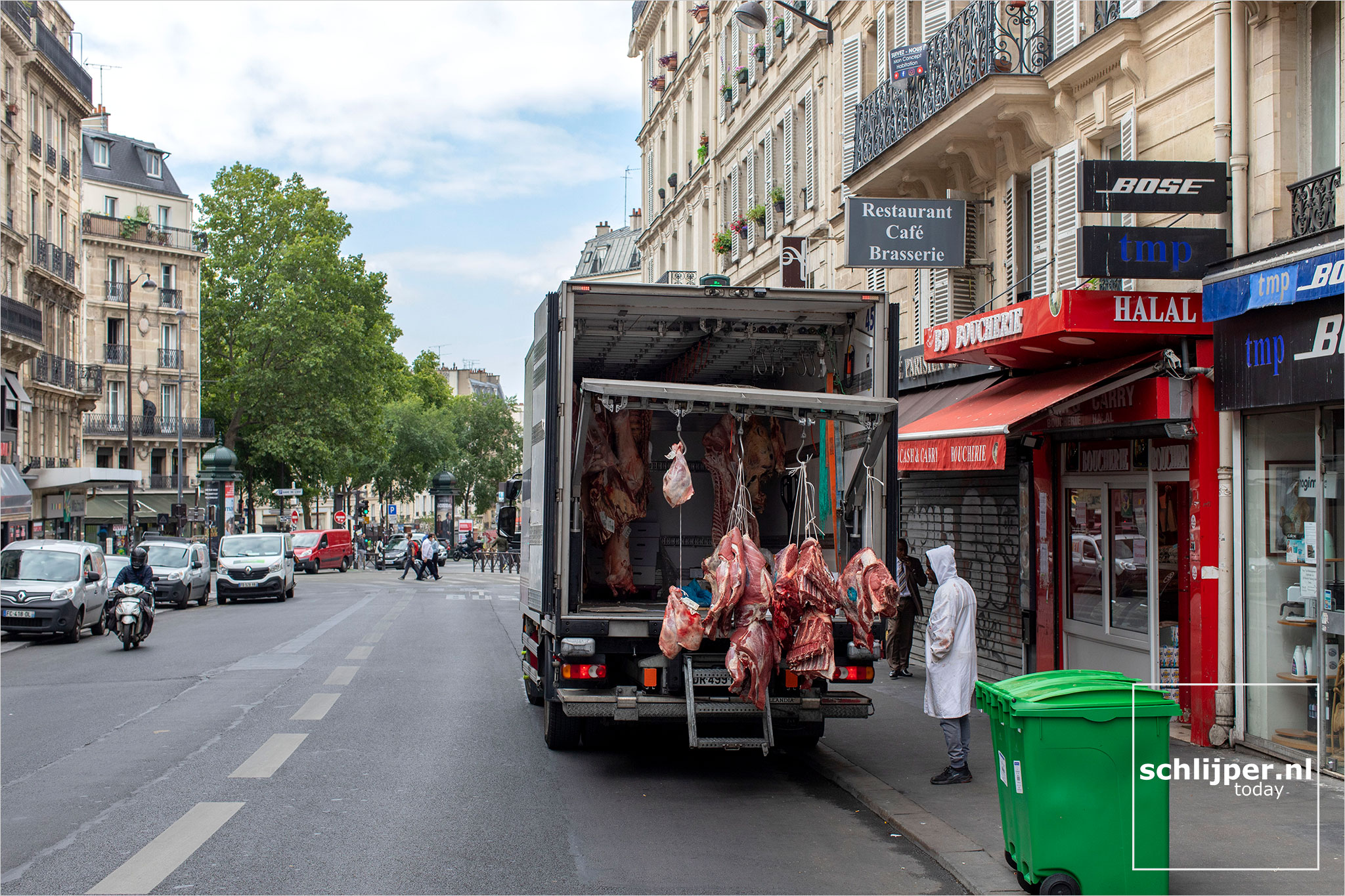 Frankrijk, Parijs, 17 juli 2020
