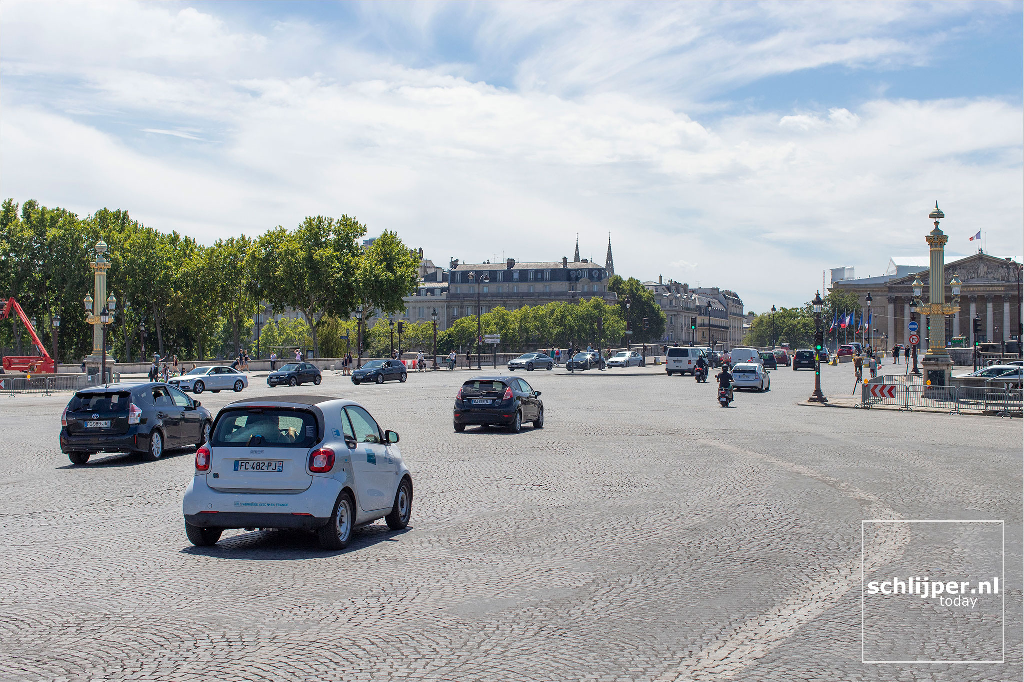 Frankrijk, Parijs, 18 juli 2020
