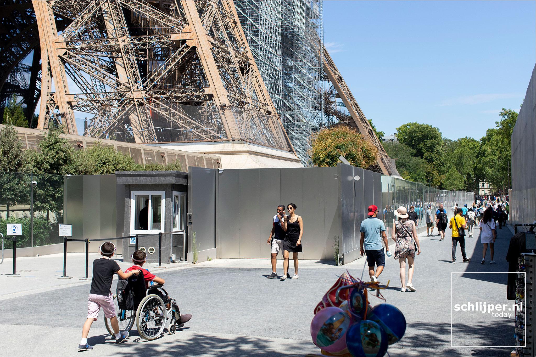 Frankrijk, Parijs, 19 juli 2020