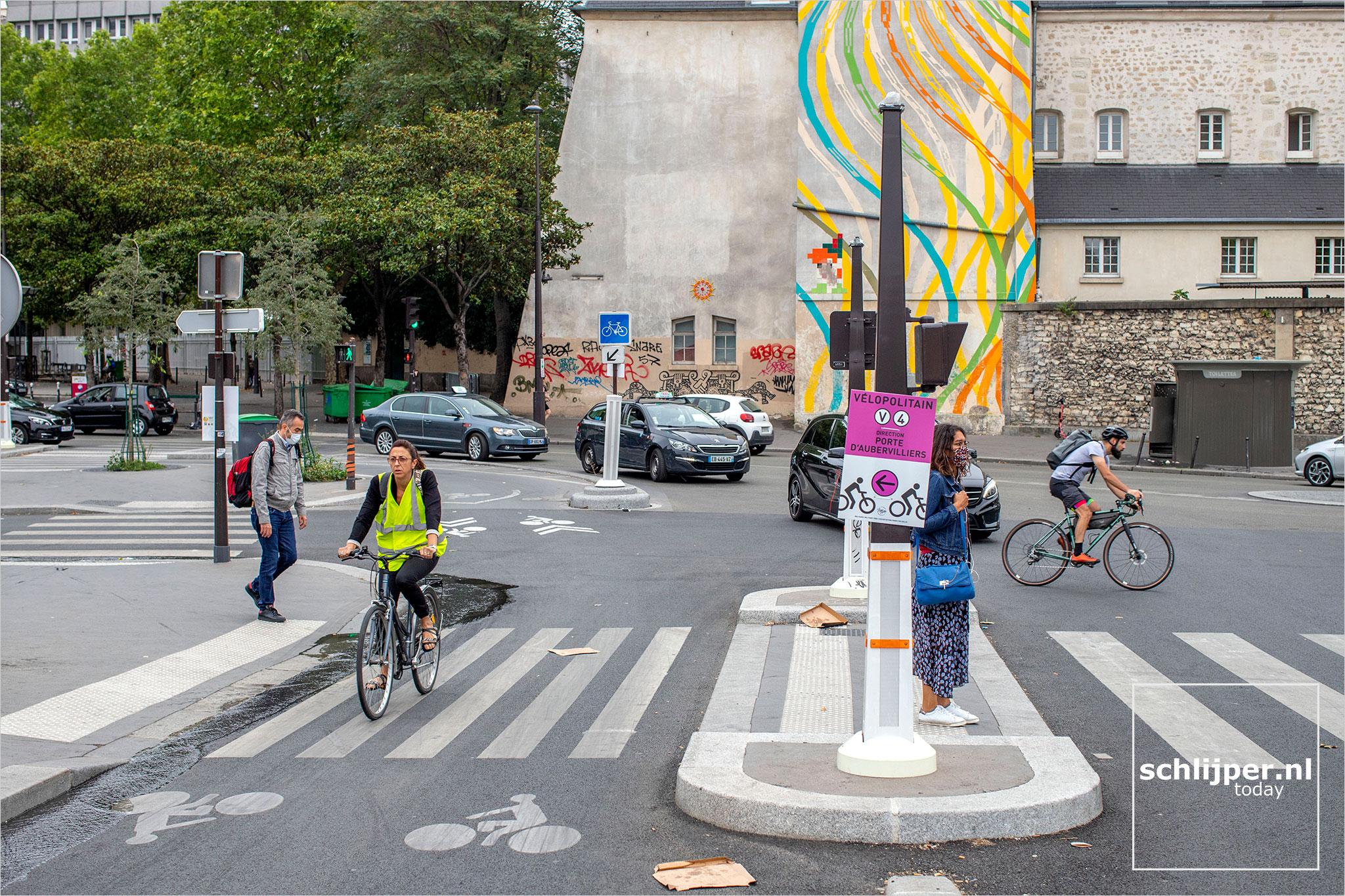 Frankrijk, Parijs, 20 juli 2020