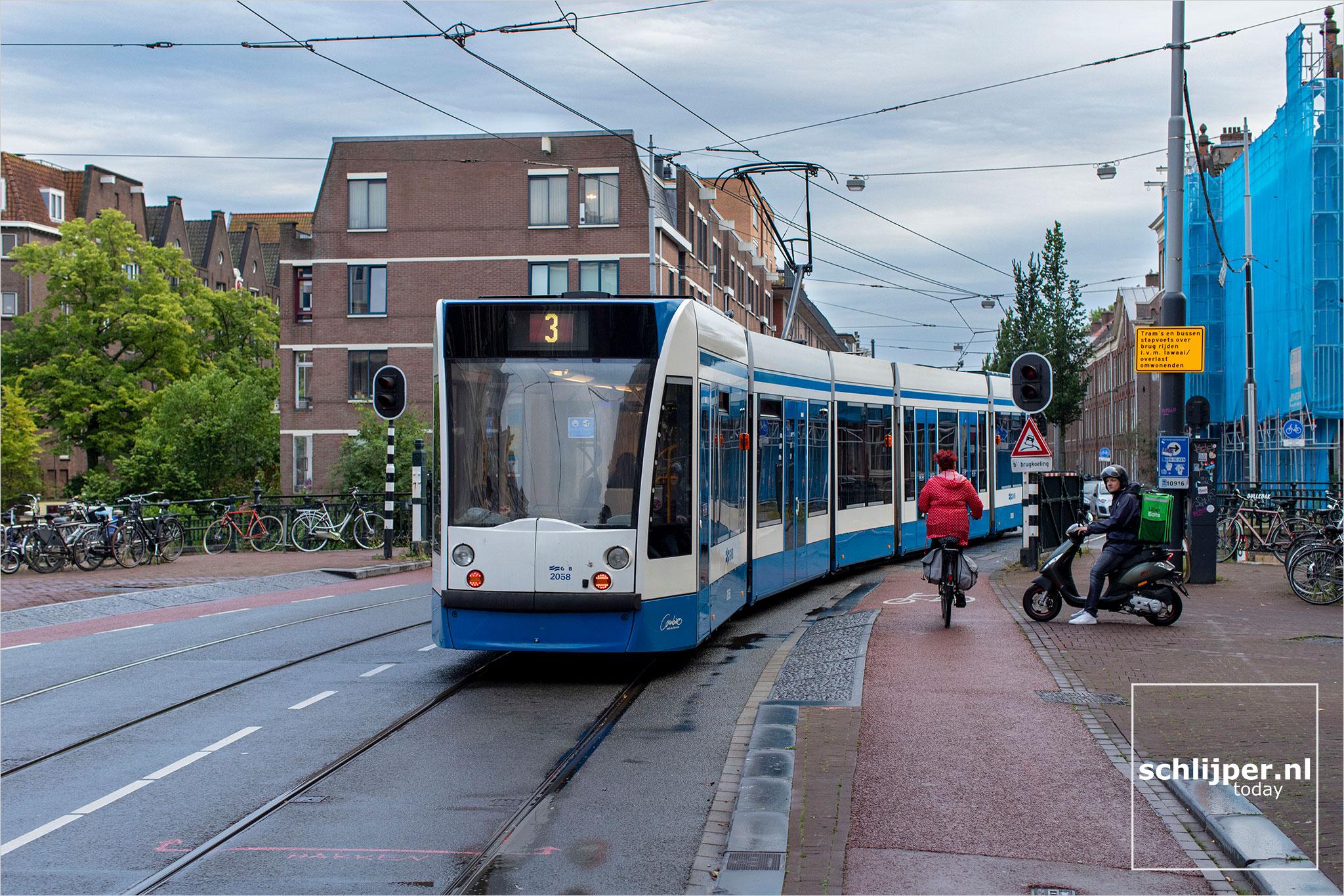 Nederland, Amsterdam, 27 juli 2020