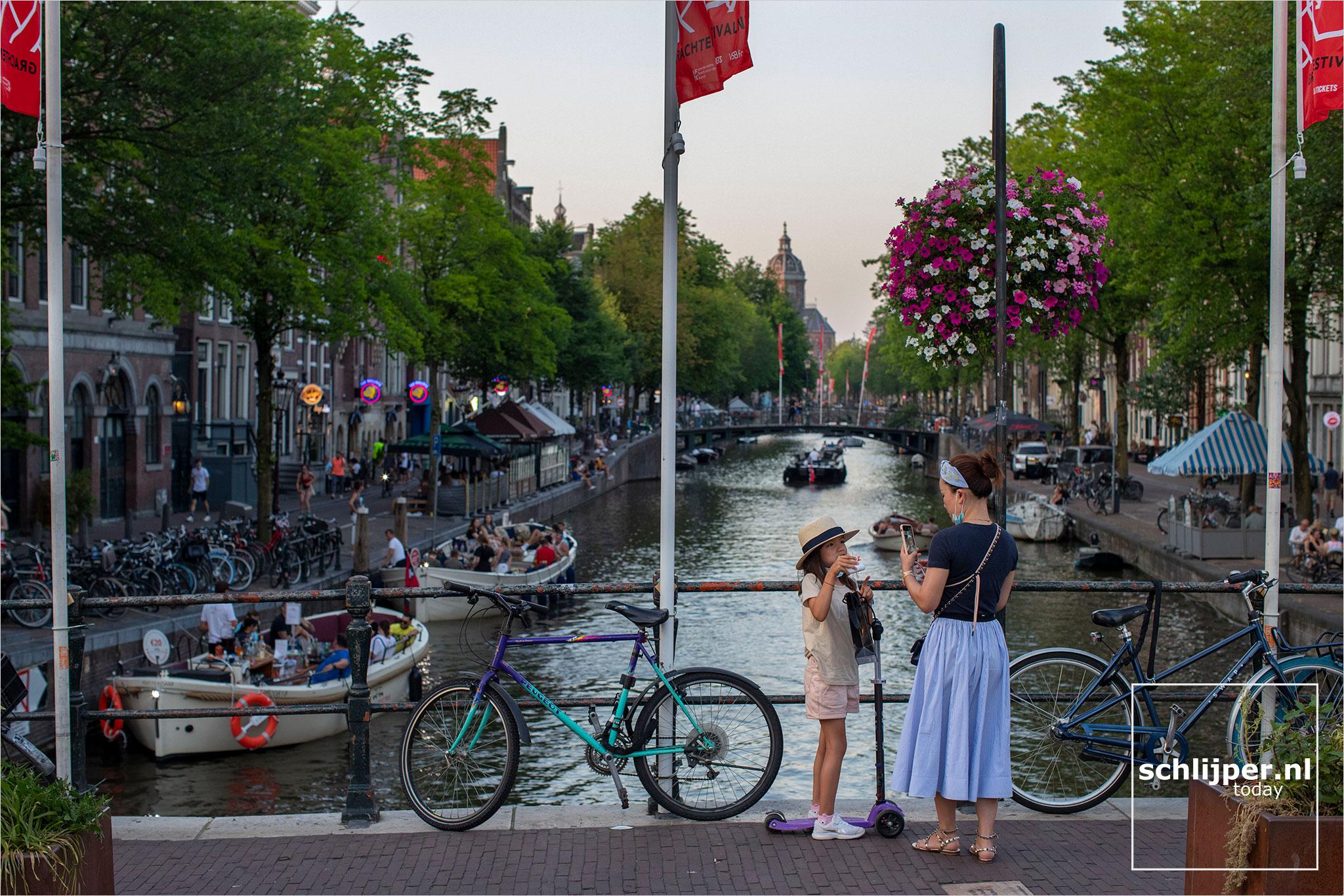Nederland, Amsterdam, 9 augustus 2020