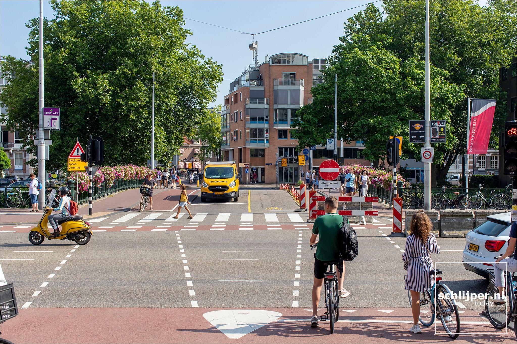 Nederland, Amsterdam, 13 augustus 2020