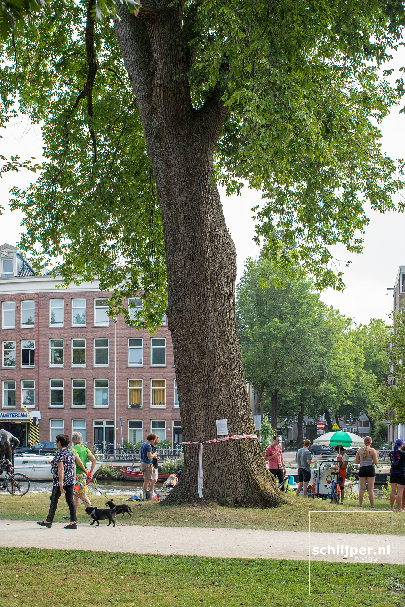 Nederland, Amsterdam, 15 augustus 2020