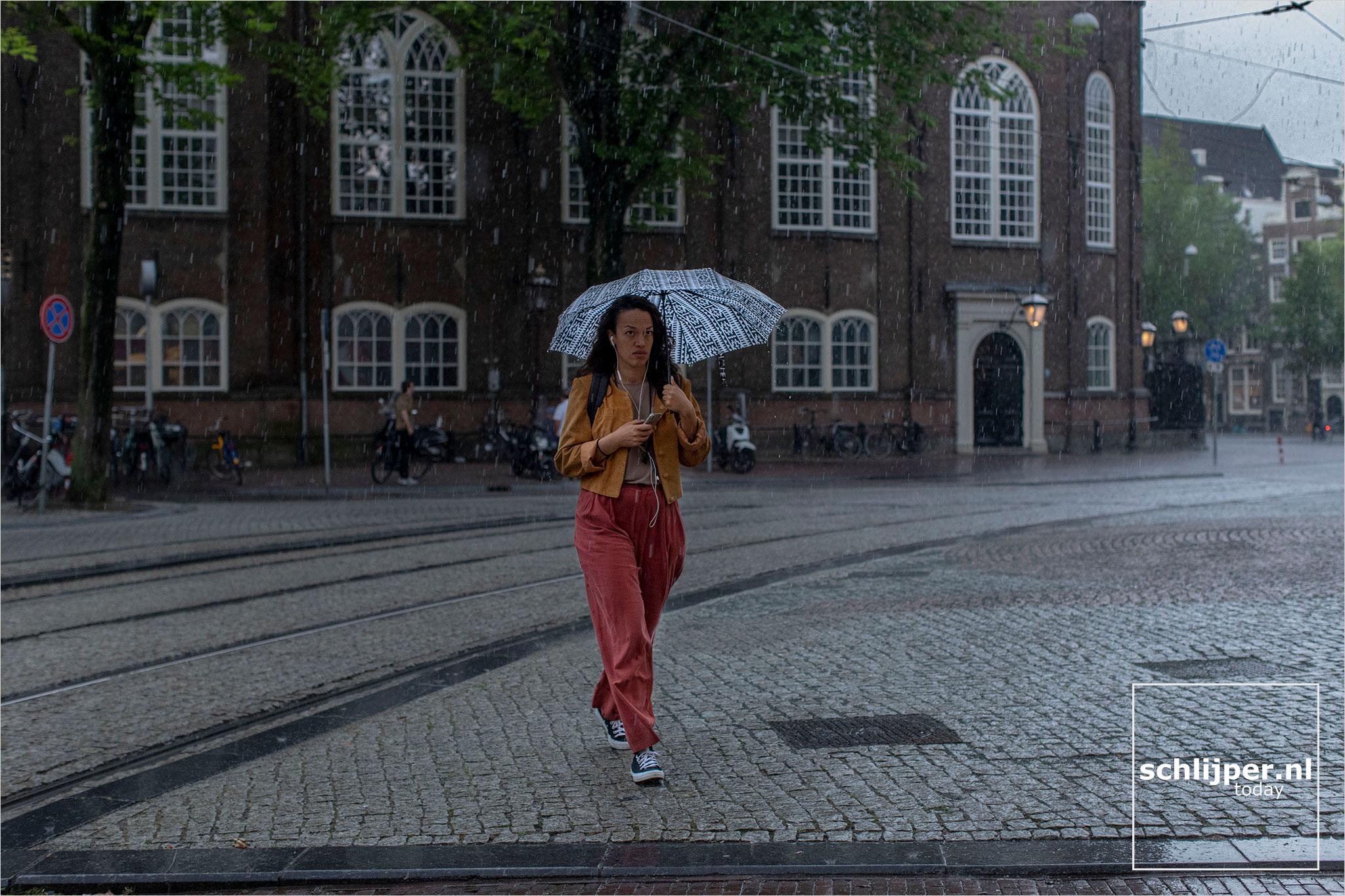 Nederland, Amsterdam, 17 augustus 2020