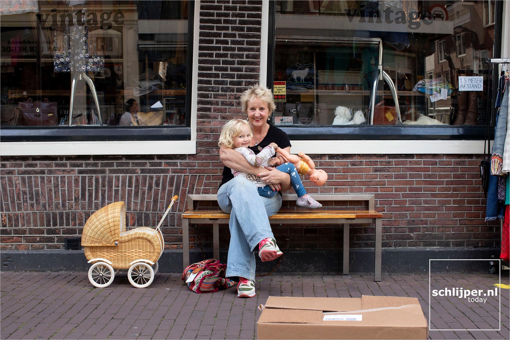 Nederland, Amsterdam, 24 augustus 2020