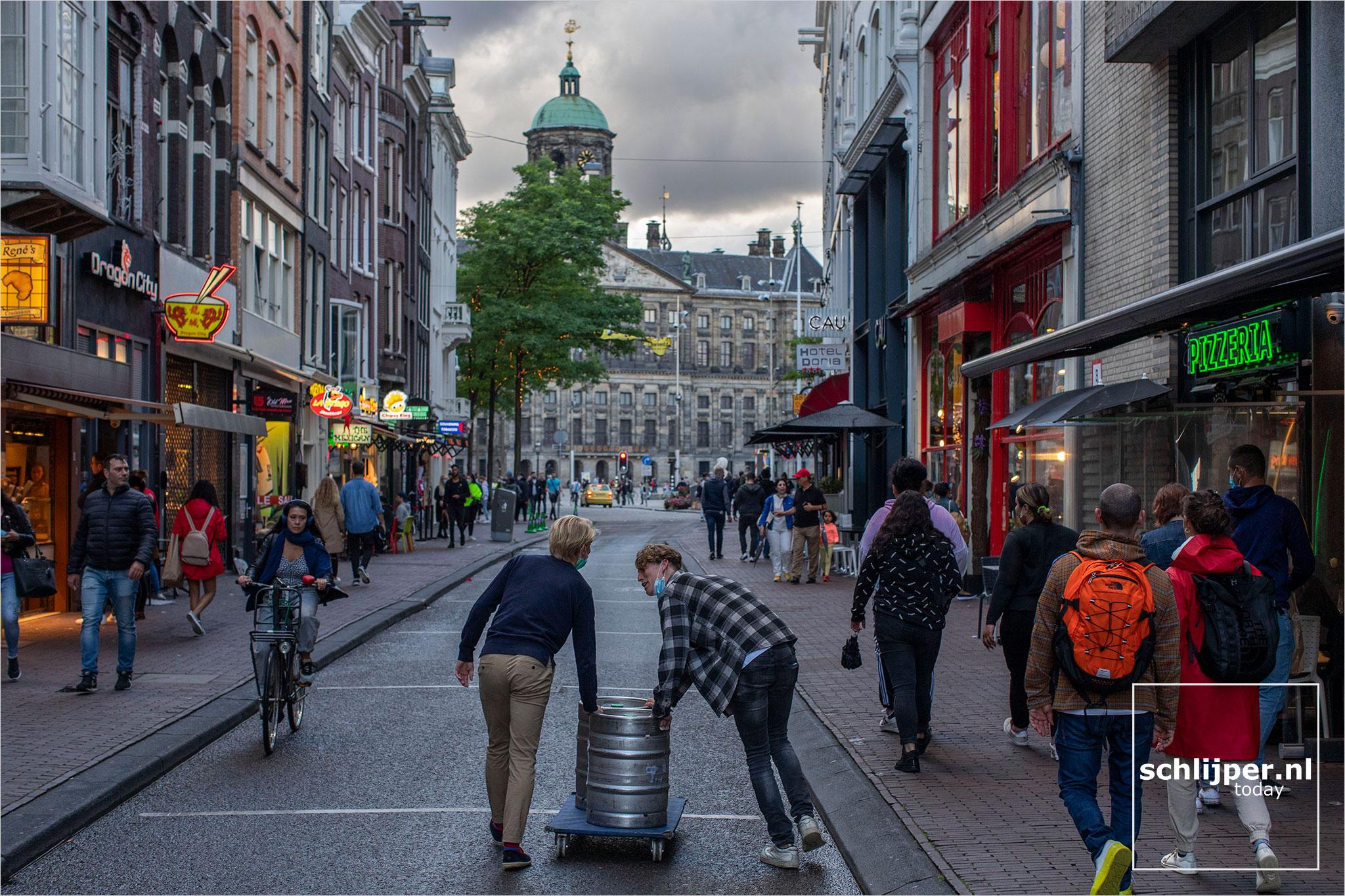 Nederland, Amsterdam, 25 augustus 2020