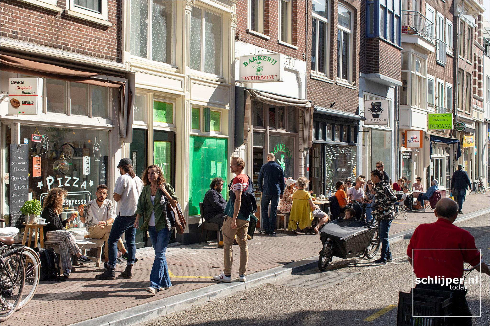 Nederland, Amsterdam, 20 september 2020