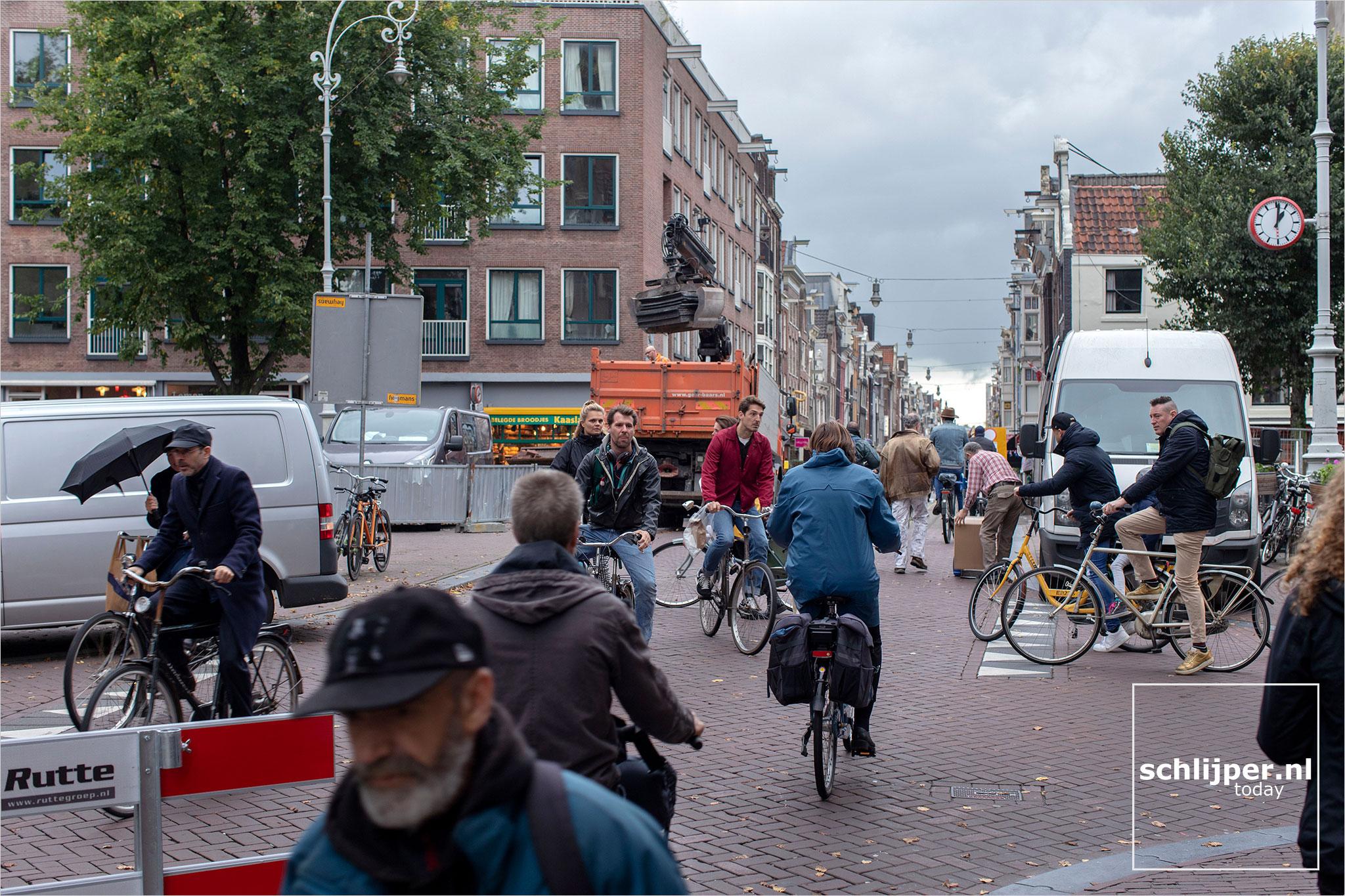 Nederland, Amsterdam, 9 oktober 2020