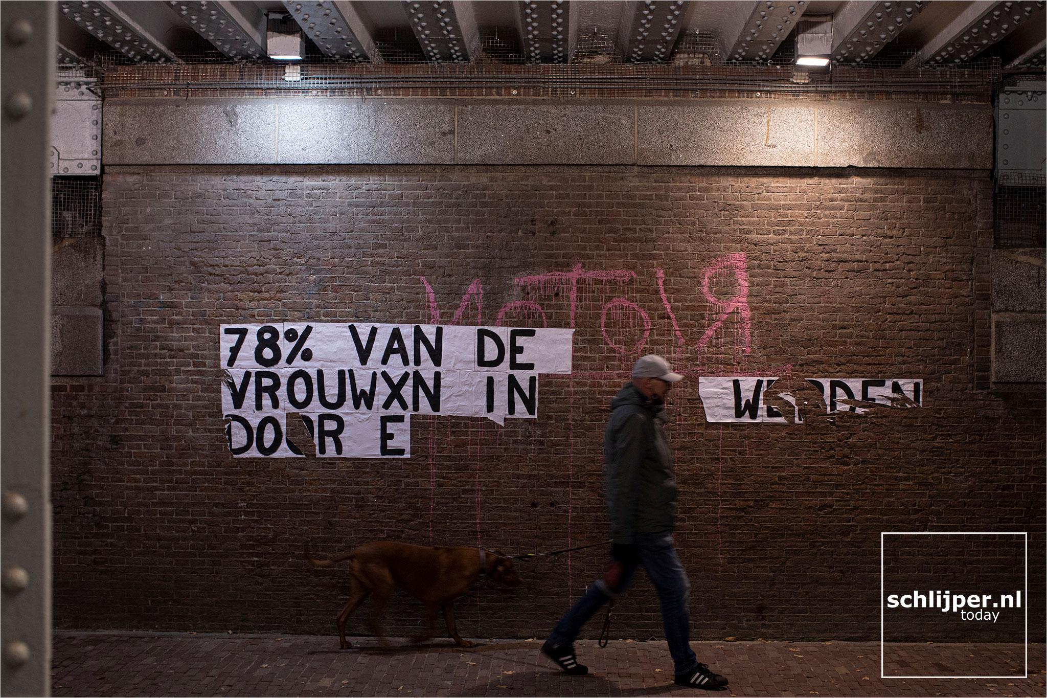 Nederland, Amsterdam, 28 oktober 2020