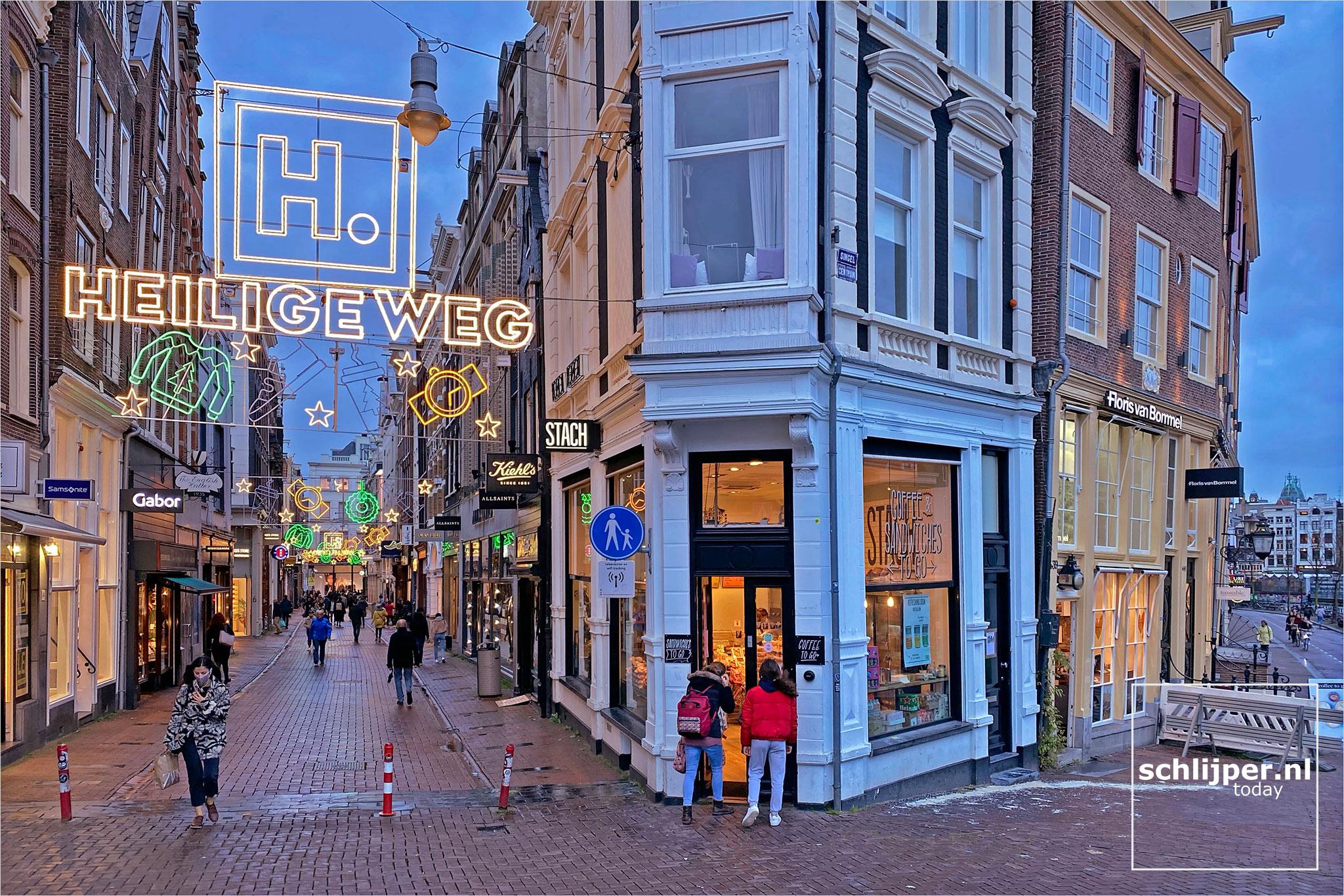 Nederland, Amsterdam, 1 november 2020