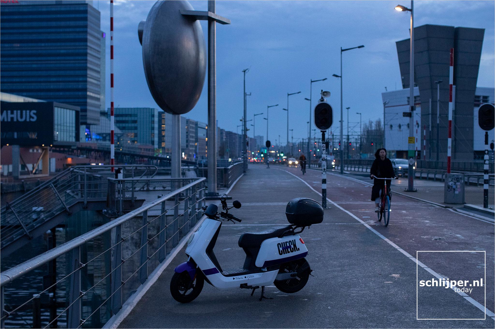 Nederland, Amsterdam, 9 november 2020