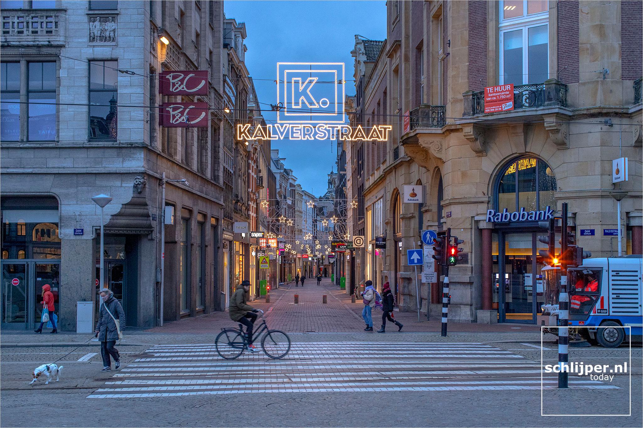 The Netherlands, Amsterdam, 4 januari 2021