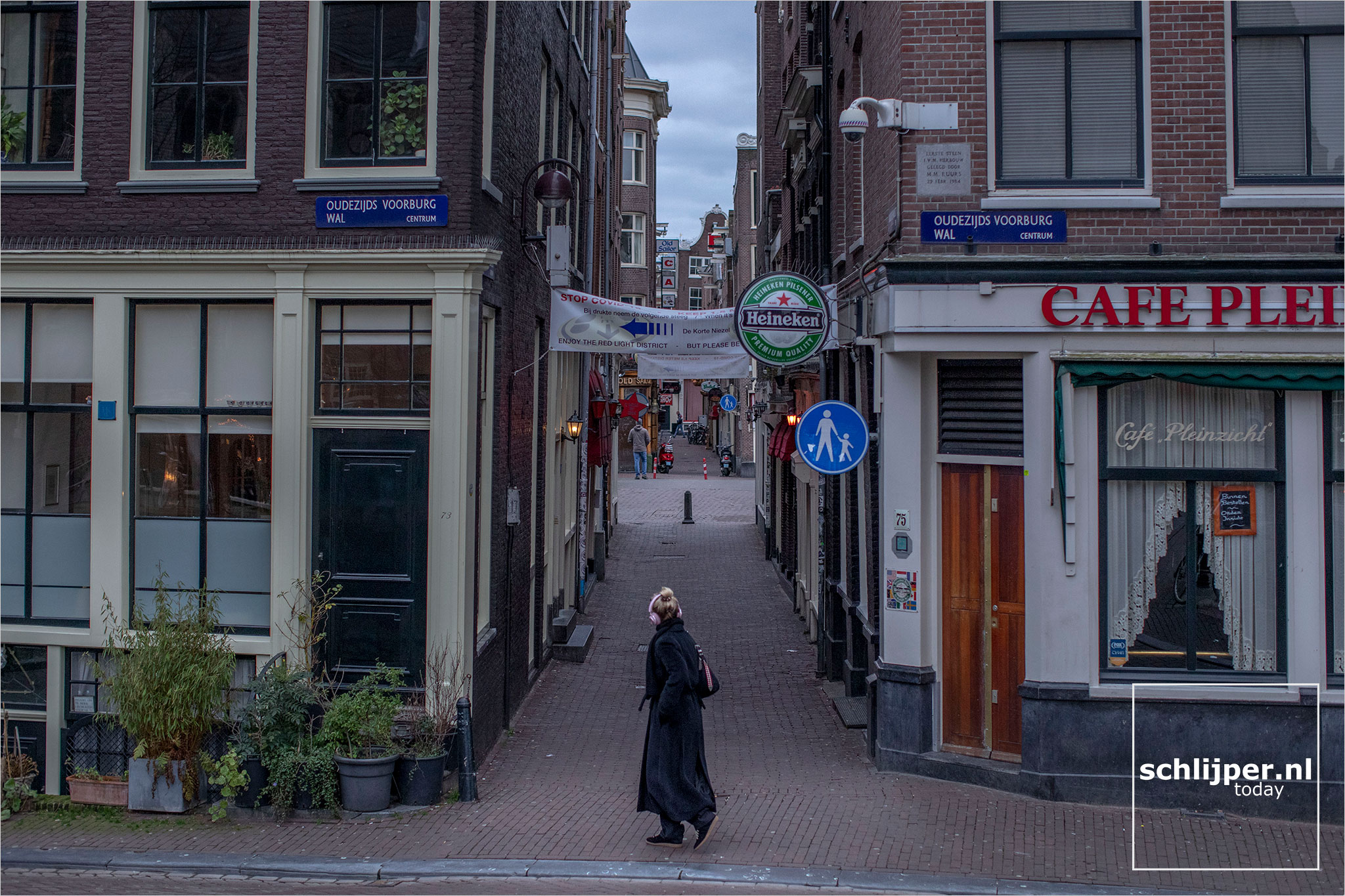 The Netherlands, Amsterdam, 6 januari 2021