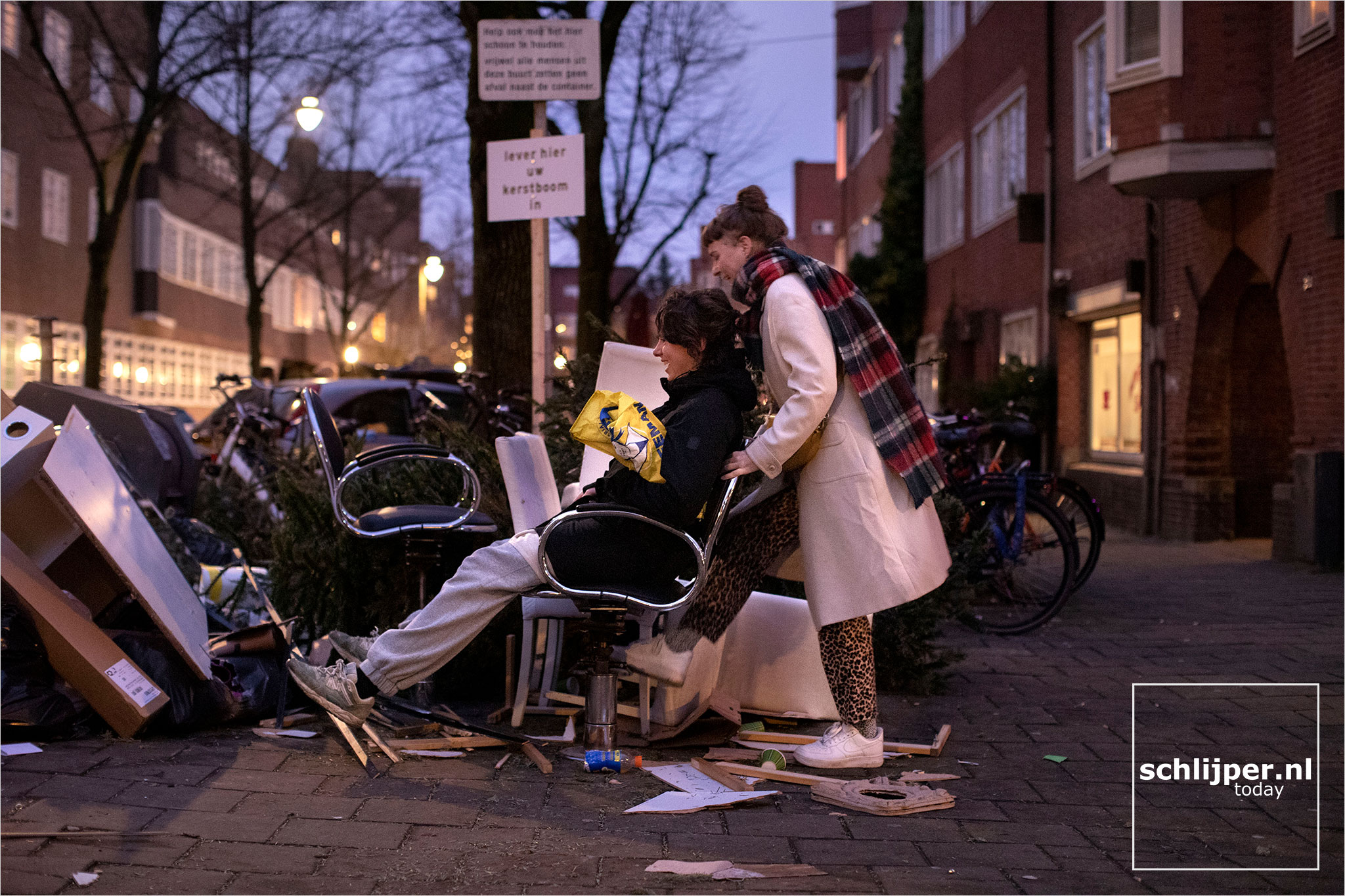 The Netherlands, Amsterdam, 10 januari 2021